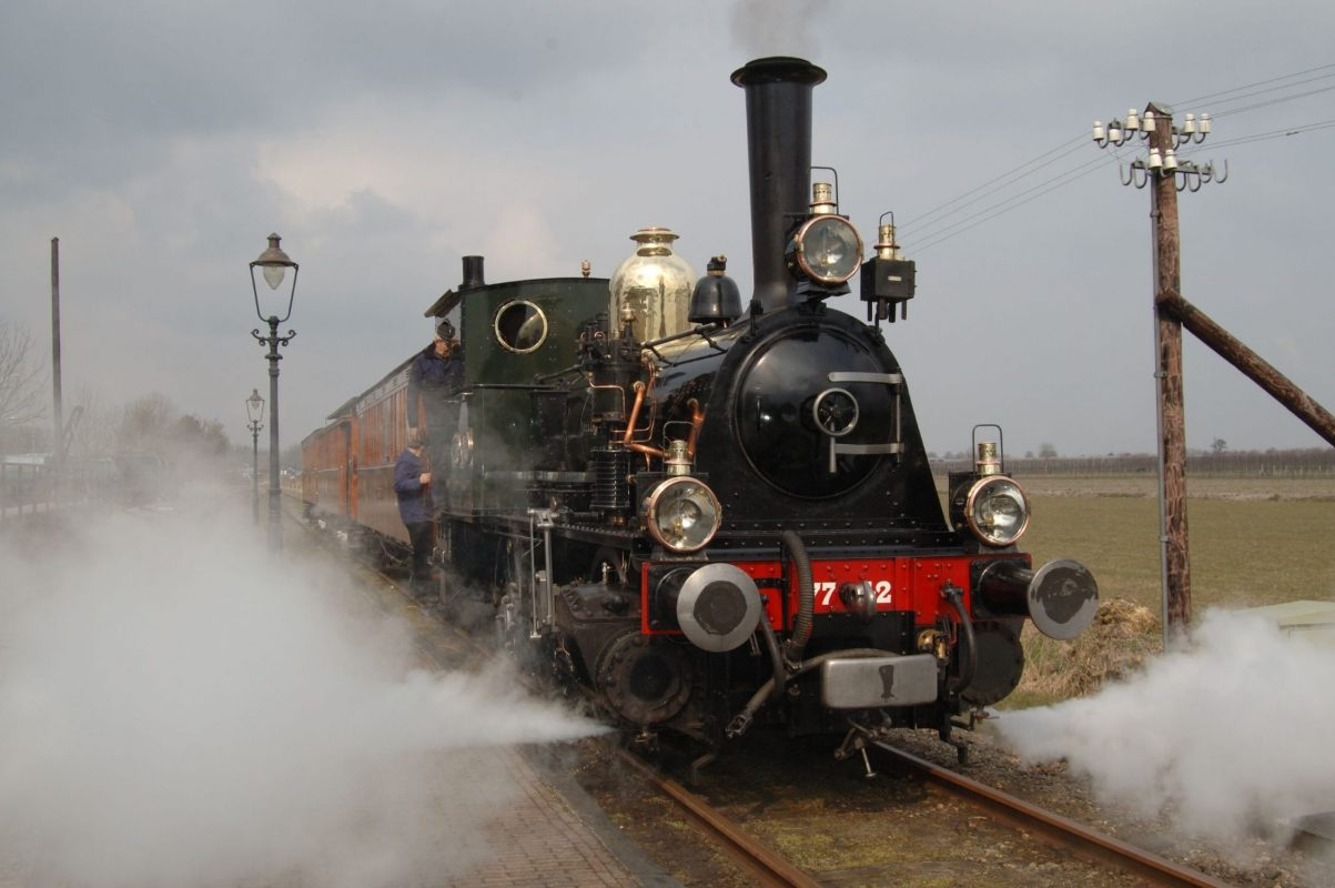 Medemblik old steam train